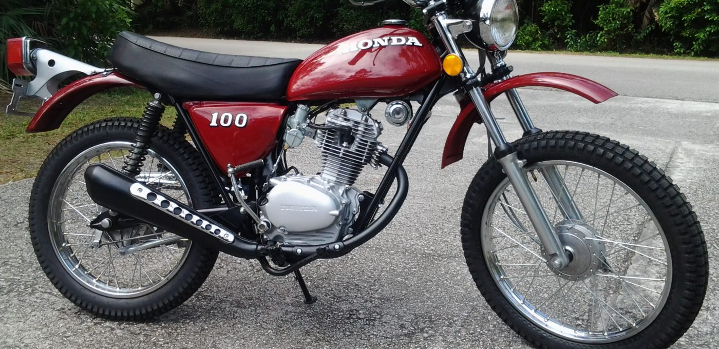 Honda Xl 100 Cafe Racer
