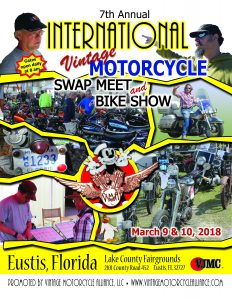 DESTINATION EUSTIS - International Swap Meet and Bike Show @ Lake County Fairgrounds, Eustis, Florida | Eustis | Florida | United States