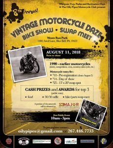 8th annual vintage motorcycle daze @ Oily pipes vintage motorcycle daze |  |  |