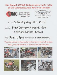 7th. Annual KCVJMC Vintage Motorcycle Show & Rally @ 7th. Annual KCVJMC Vintage Motorcycle Show & Rally |  |  |