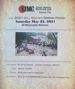 2021 Bill Brown Spring Picnic @ Vintage and unique motorcycles |  |  |